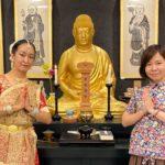奈良大安寺にて奉納「インドからの祈りの舞」